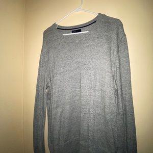 A Gray Long Sleeve